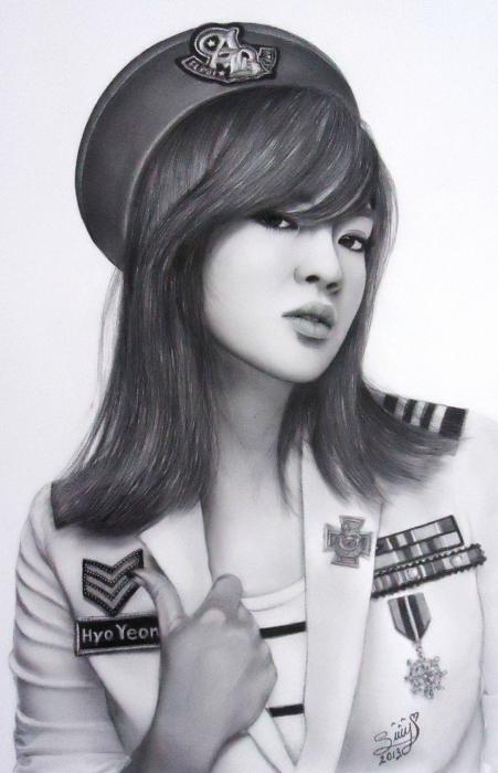 Kim Hyo-yeon par Sury